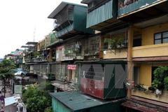 Hanoi to rebuild 30 old apartment buildings