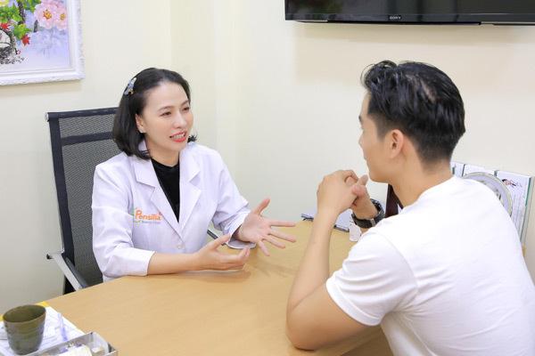 Cao Xuân Tài, Tường Vy đi làm đẹp chuẩn bị Gala Vietnam Fitness Model
