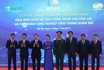 Viettel sẽ xây dựng tổ hợp công nghiệp công nghệ cao ở Hoà Lạc