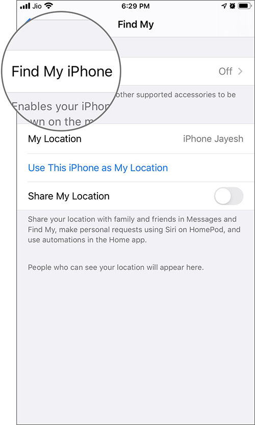 Cách thêm hoặc xóa thiết bị khỏi ứng dụng Find My iPhone/iPad/Mac