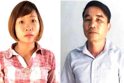Giữ hình sự đôi nam nữ xưng nhà báo nhận tiền chủ lò than ở Gia Lai