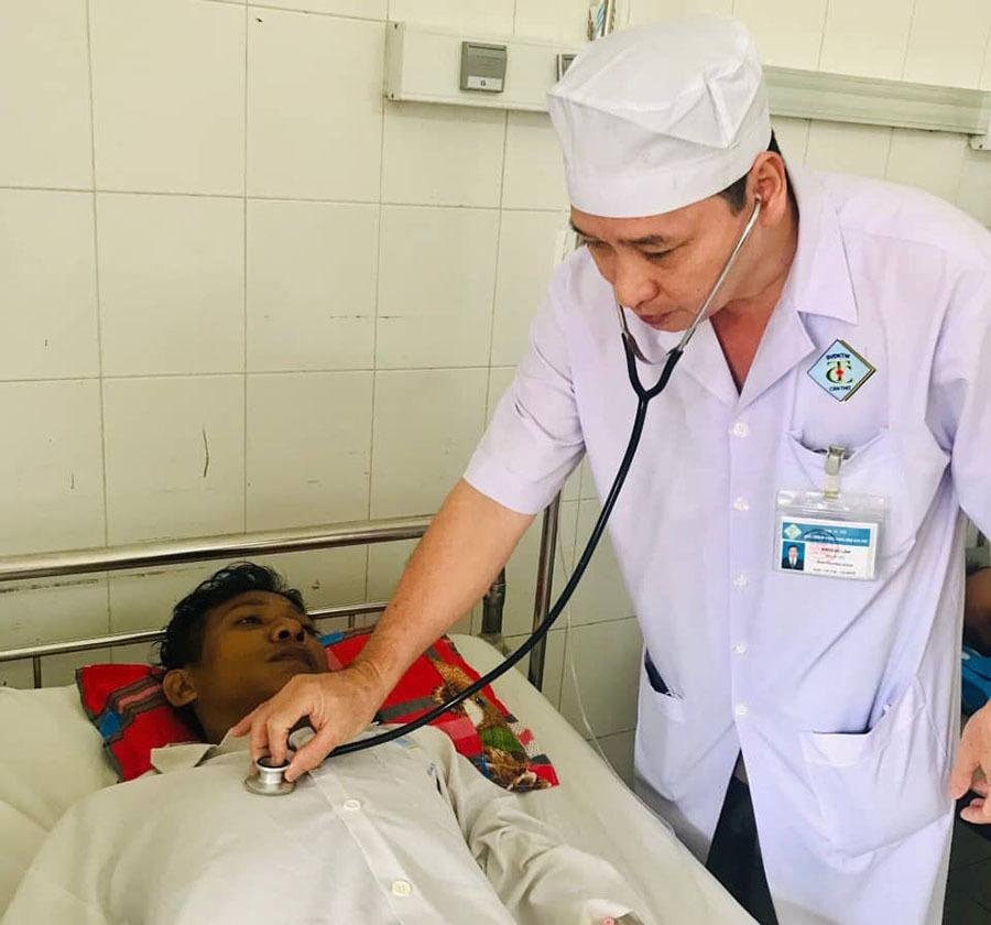 Bị đau bụng dữ dội, người đàn ông suýt mất mạng vì có nang giả tụy