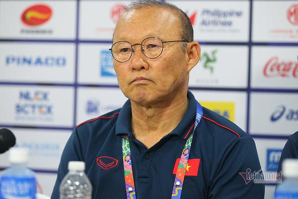 HLV Park Hang Seo: 'Tôi chỉ hài lòng về kết quả'
