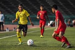 U22 Malaysia bị Myanmar cầm hòa trận ra quân SEA Games