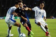 U22 Philippines thoát thua ở phút 94 trước U22 Campuchia
