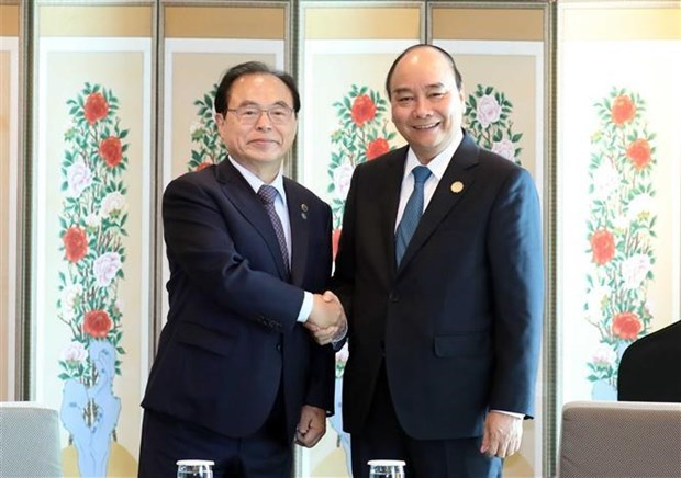 Prime Minister Nguyen Xuan Phuc,Association of Southeast Asian Nations,ASEAN-RoK Commemorative Summit,Mekong-RoK Summit,people-to-people exchanges,RoK,Vietnam,Viet Nam News