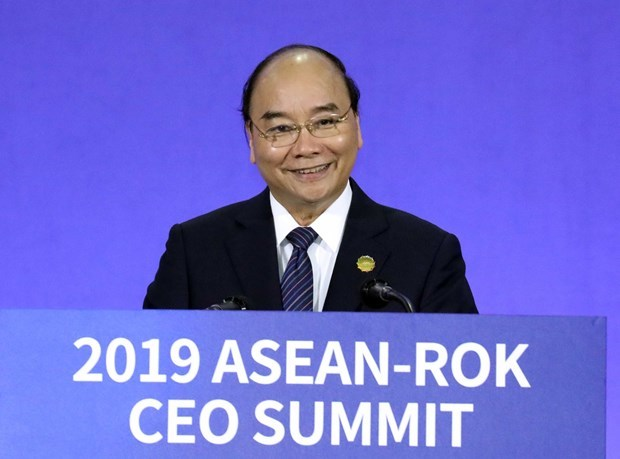 Vietnam,ASEAN member states,Prime Minister Nguyen Xuan Phuc,ASEAN-RoK CEO Summit,two-way trade,environmentally-friendly technologies,climate change response,New Southern Policy