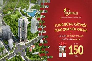 Mở bán đợt cuối dịp cất nóc Golden Park Tower