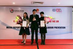 Báo VietNamNet đạt giải B cuộc thi viết về Phòng ngừa lao động trẻ em
