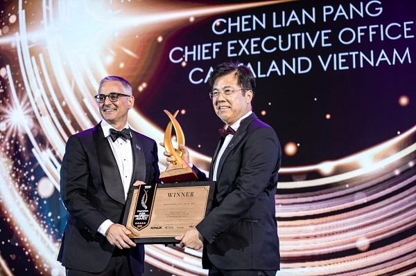 CEO CapitaLand Việt Nam được vinh danh Nhân vật BĐS của năm 2019
