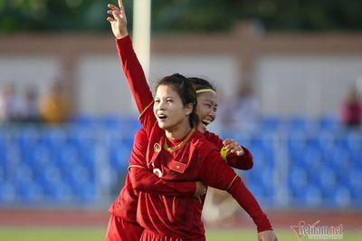 Video bàn thắng Nữ Việt Nam 1-1 nữ Thái Lan