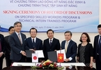 Vietnam, Japan sign record of discussions on employing specific skilled workers
