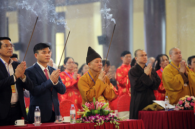 Ngàn người dự đại lễ kỷ niệm 711 năm Phật Hoàng Trần Nhân Tông nhập Niết Bàn