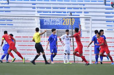 U22 Thái Lan thua bẽ bàng Indonesia trận ra quân