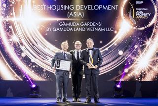 Gamuda Gardens được vinh danh Dự án nhà ở tốt nhất châu Á