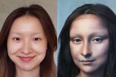 Cô gái nổi tiếng với màn hóa trang Mona Lisa bị bạn trai bạo hành