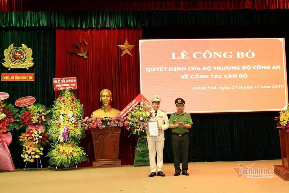 Đại tá Vũ Hồng Văn làm GĐ Công an Đồng Nai thay ông Huỳnh Tiến Mạnh bị kỷ luật