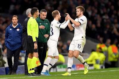 Tottenham thắng ngược C1, Mourinho xin lỗi vì 'tàn nhẫn' với Eric Dier