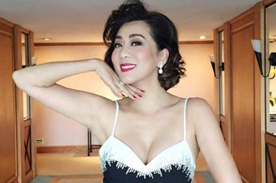 MC Nguyễn Cao Kỳ Duyên U60 vẫn trẻ, gợi cảm như gái son vì bước ra ngoài sân si