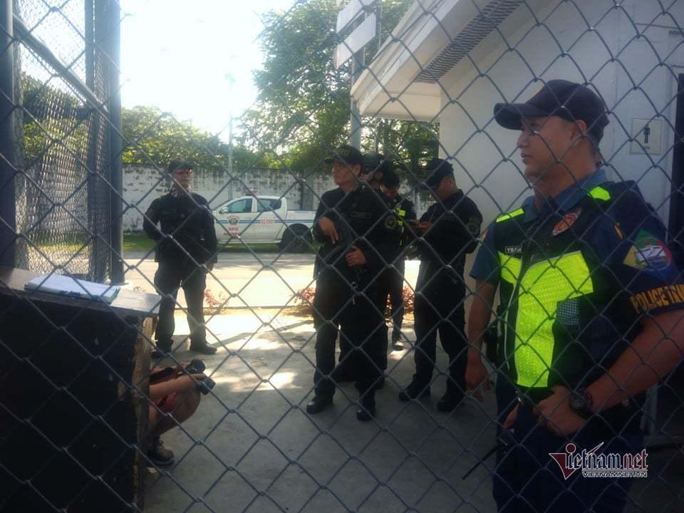U22 Việt Nam được bảo vệ nghiêm ngặt trước trận gặp Lào