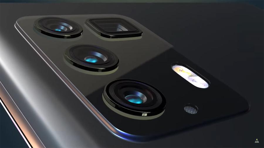 Ngắm mẫu Galaxy One với màn hình cong tràn viền không 'đục lỗ' đẹp mê mẩn