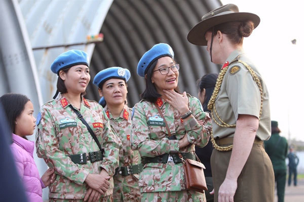 Vietnamese officers of second Level-2 field Hospital leave for South Sudan