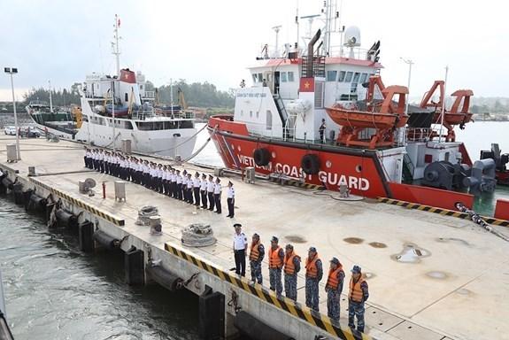 Vietnam Coast Guard ship visits Japan