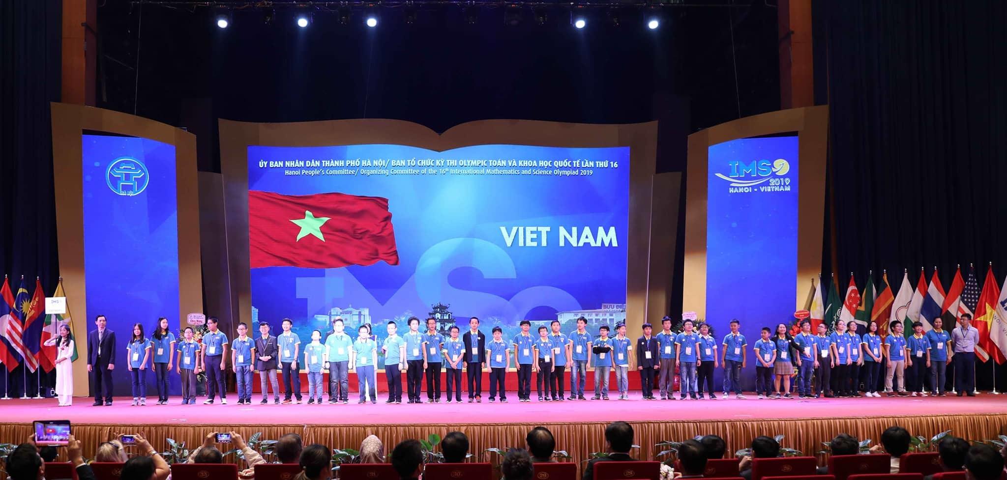 Học sinh từ 23 quốc gia đến Việt Nam thi Olympic Toán và Khoa học quốc tế