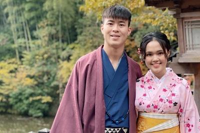 Cầu thủ Duy Mạnh đưa bạn gái du lịch Nhật Bản, hâm nóng tình cảm