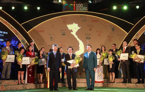 HDBank vào Top 10 Doanh nghiệp bền vững năm 2019