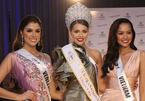 Ngọc Châu về nhì phần thi Thanh lịch tại Hoa hậu Siêu quốc gia 2019