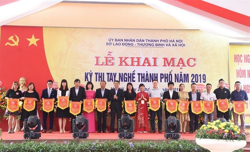 362 thí sinh tranh tài kỳ thi tay nghề TP Hà Nội năm 2019