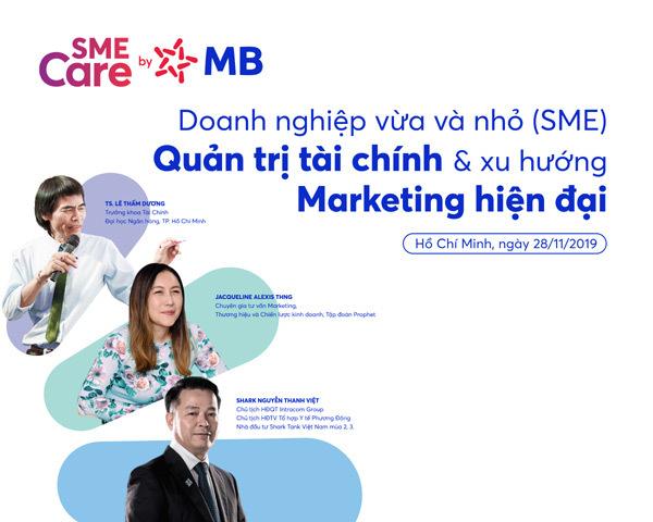 Quản trị tài chính và xu hướng marketing hiện đại cho SME
