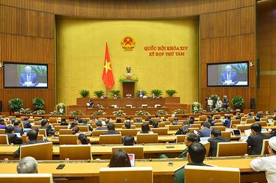 Quốc hội đề nghị thay thế kịp thời cán bộ tham nhũng