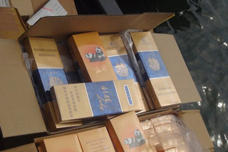Cigarette smuggling boats seized in Vietnamese waters