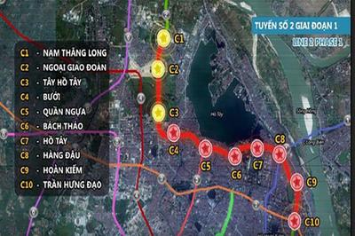 Dự án đường sắt Nam Thăng Long - Trần Hưng Đạo vay ODA 30.572 tỷ đồng