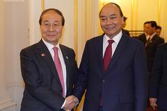 Thủ tướng tiếp Chủ tịch Hội Hữu nghị Hàn-Việt
