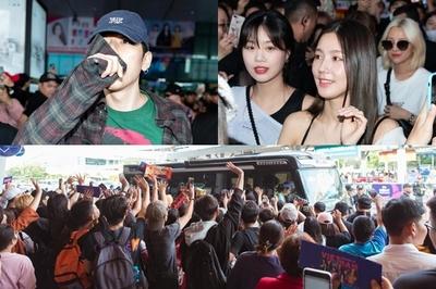 Hậu AAA 2019, ZICO và (G)-IDLE tiếp tục gây bão tại Tân Sơn Nhất