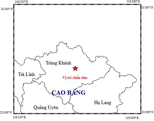 Động đất 4,7 độ ở Cao Bằng, Hà Nội tiếp tục rung chấn