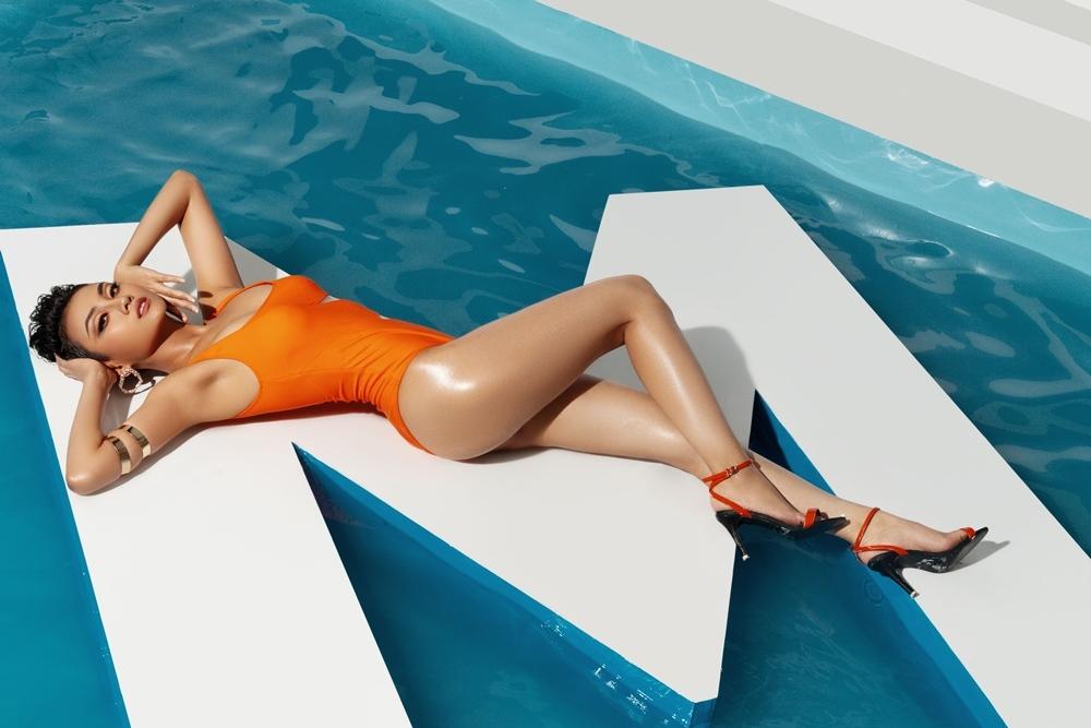 Thí sinh Hoa hậu Hoàn vũ Việt Nam khoe thân hình nóng bỏng với bikini