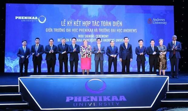 Phenikaa Group launches university, innovation foundation in Vietnam