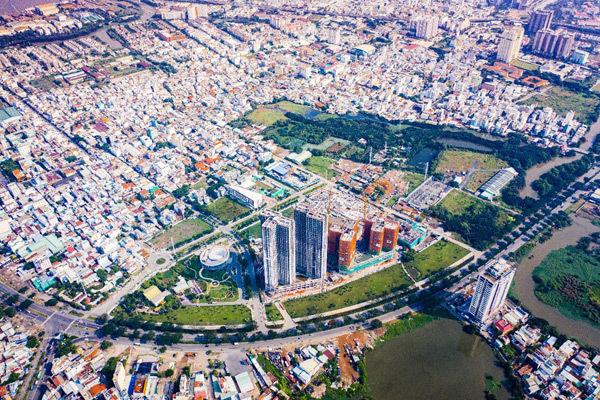 Eco Green Saigon ghi điểm với tiến độ xây dựng