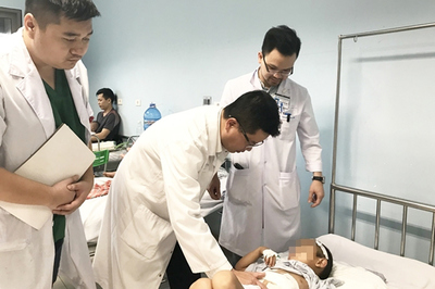 Bé trai 6 tuổi bị vỡ gan, phải cắt bỏ một nửa
