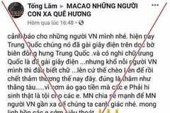 Quảng Ninh bác thông tin 7 người Việt tử vong ở biên giới Trung Quốc