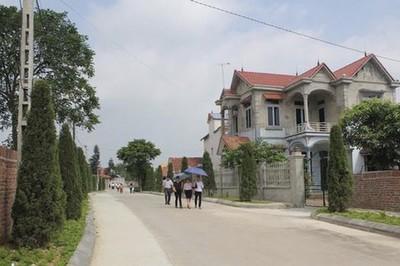 Năm 2019, Thái Nguyên phấn đấu nâng số xã đạt chuẩn nông thôn mới lên 101 xã