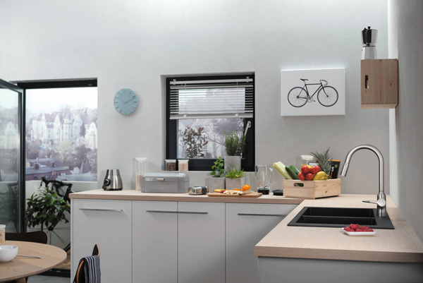 Năm 2020, vật liệu kim loại 'lên ngôi' trong phòng tắm, nhà bếp