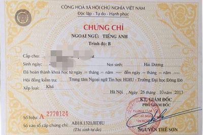 Bộ Giáo dục bỏ quy định kiểm tra và cấp chứng chỉ ngoại ngữ A, B, C