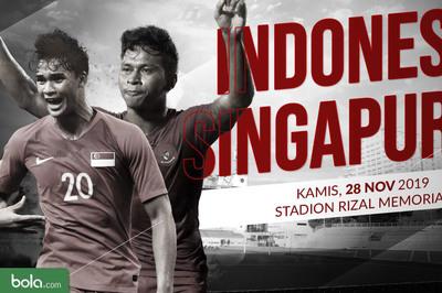Link xem trực tiếp U22 Indonesia vs U22 Singapore, 19h ngày 28/11