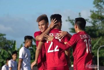 Video bàn thắng U22 Việt Nam 6-1 U22 Lào
