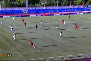 """Video trọng tài """"cướp trắng"""" bàn thắng của Đoàn Văn Hậu"""